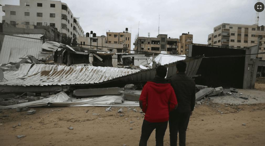 Israeli warplanes hit 100 hamas targets after rocket attack
