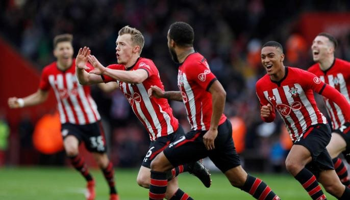 Ward-Prowse stunner downs Spurs at Southampton