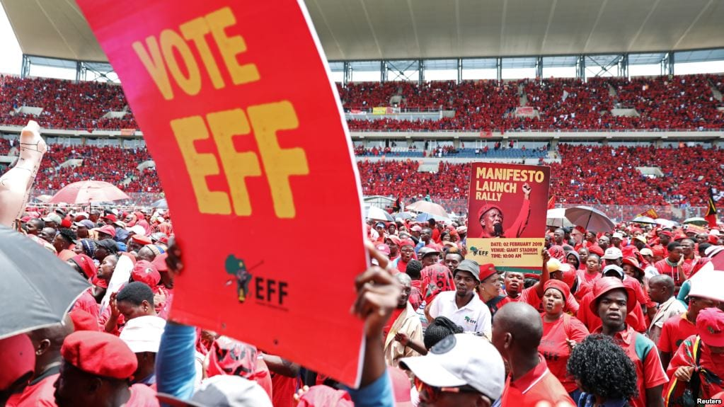 The rise of South Africa's third party