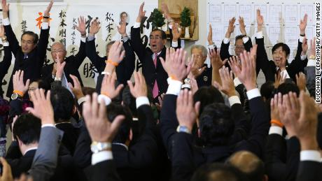 Just one in every 10 politicians in Japan's lower house is a woman
