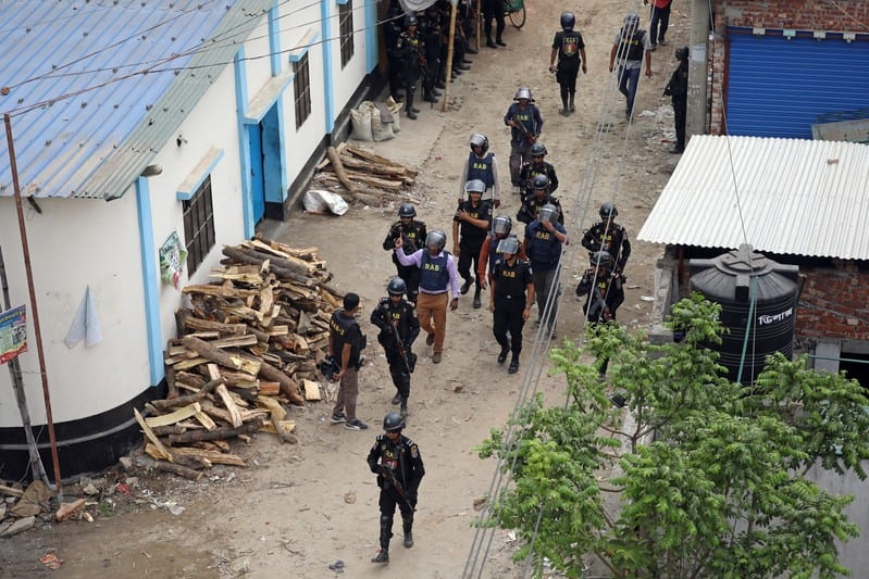 Bangladesh police say they have killed 2 Islamist militants