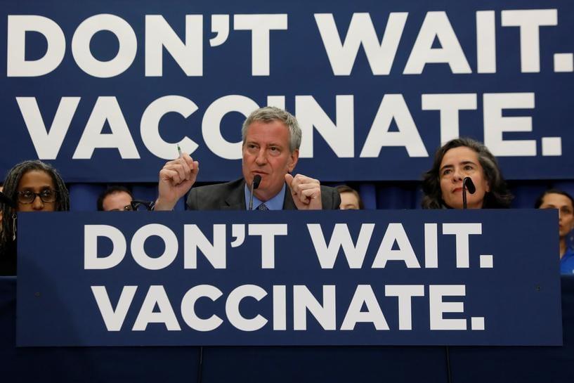 New York orders mandatory measles vaccinations, blasts misinformation fueling outbreak