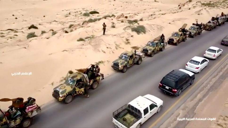 Eastern Libyan commander orders forces to move on Tripoli
