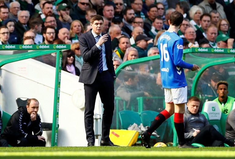 Gerrard loses patience with Morelos after fifth red card