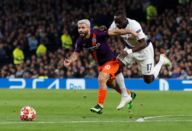 Sissoko unaware Tottenham had advanced after Sterling goal disallowed