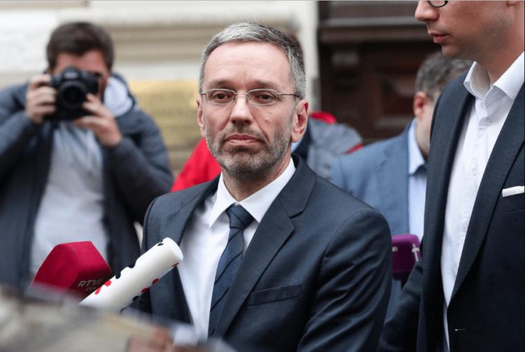 Austrian interior minister faces dismissal over corruption scam