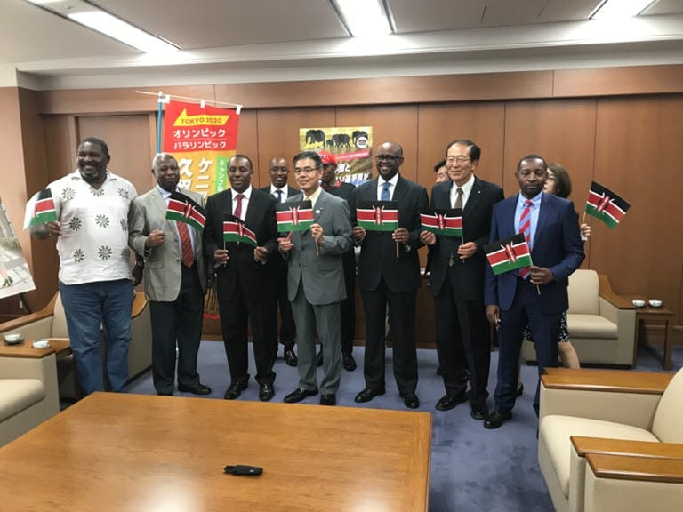 Kenya kicks off Tokyo 2020 Olympic tour