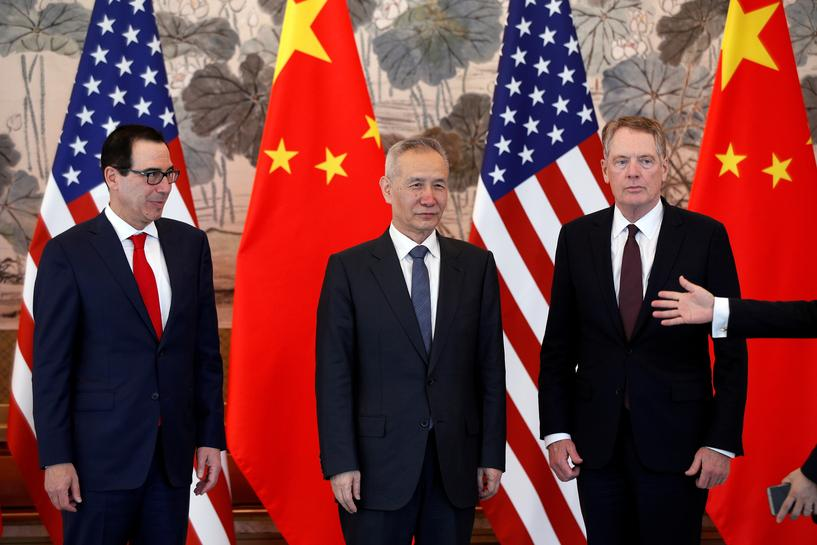 China sends top negotiator to U.S. in bid to avert tariff hike