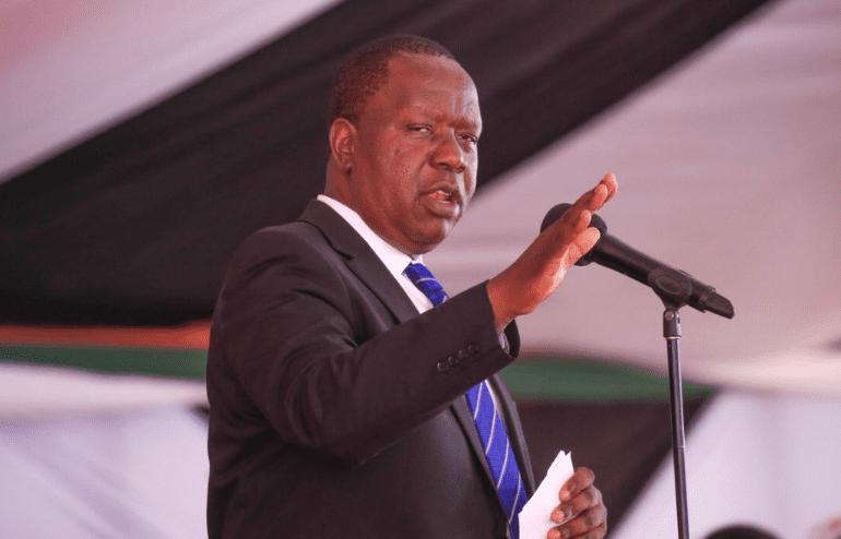 CS Matiang'i announces reshuffle at Interior Ministry