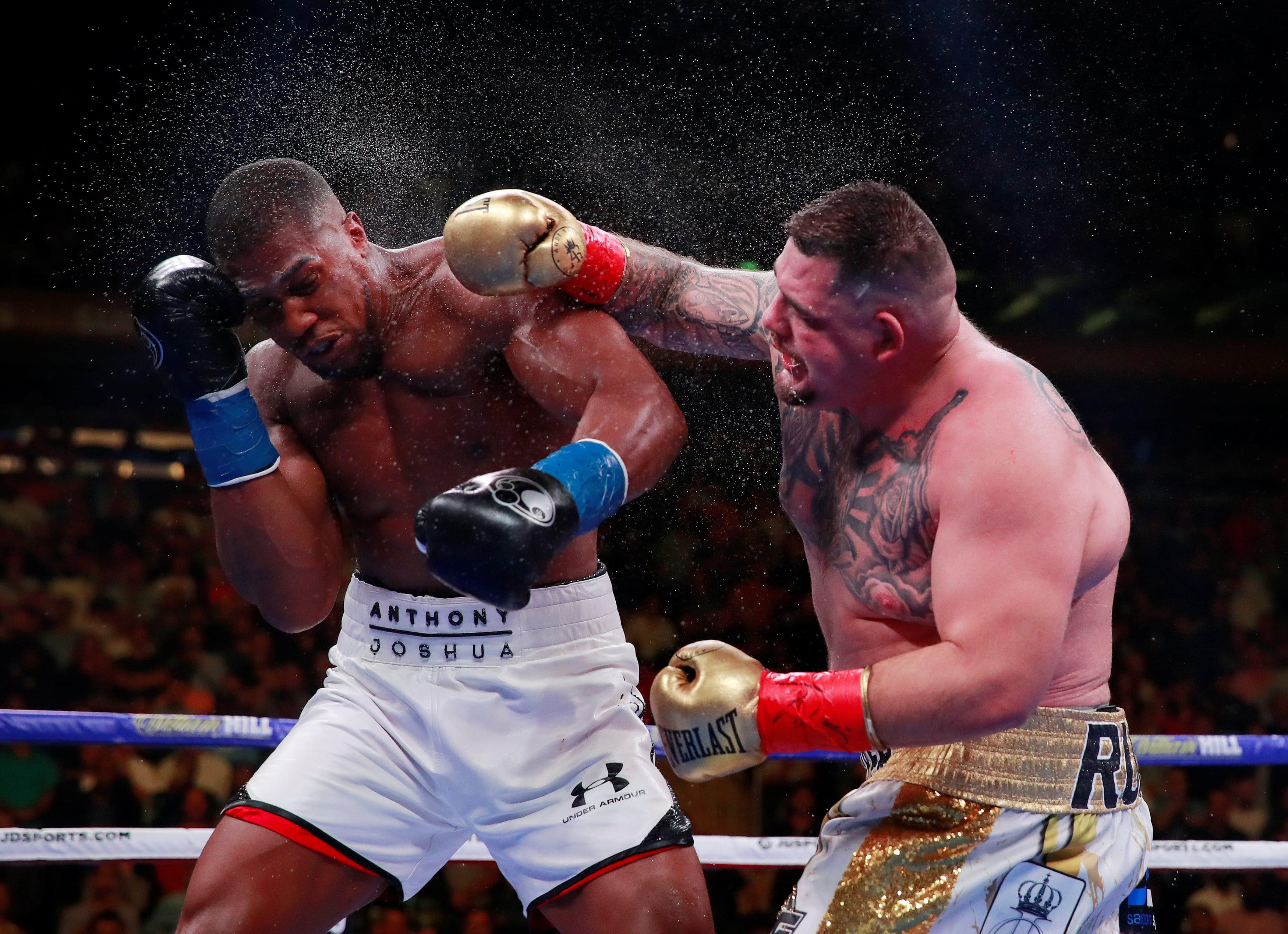 Joshua suffers stunning defeat to Ruiz Jr