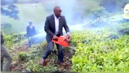 Nandi Governor Sang arrested, whisked away to Kisumu