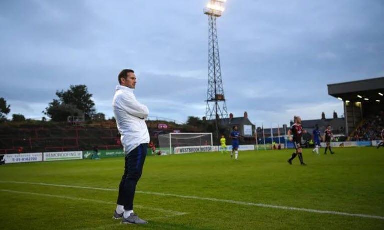 Chelsea held in Dublin as Lampard's reign begins