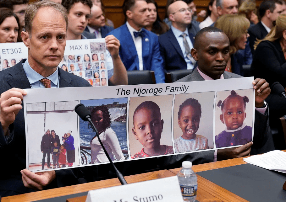 Man who lost family in Ethiopia crash wants Boeing punished or 'more people will die'
