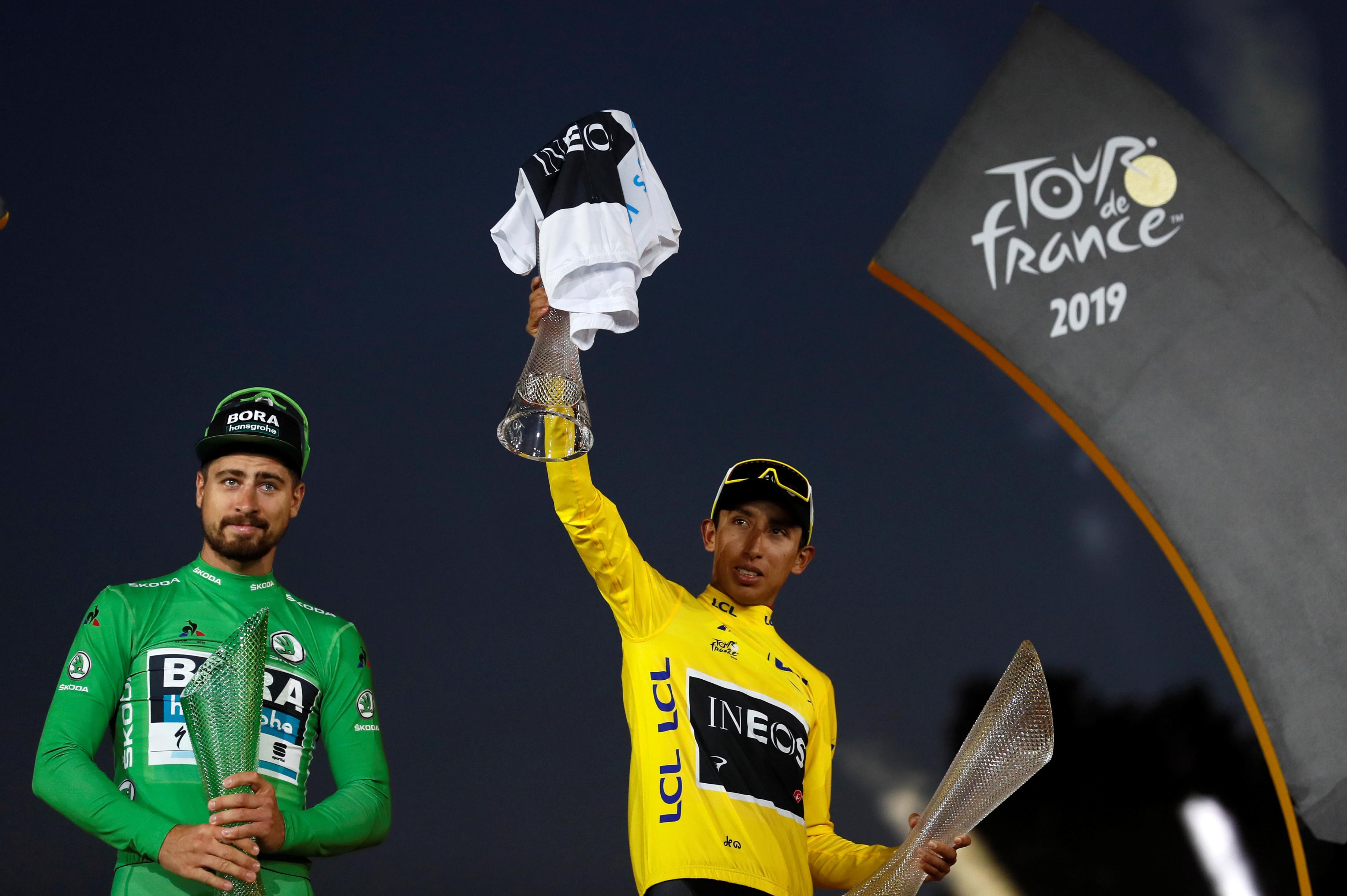 Bernal claims Colombia's first Tour de France title