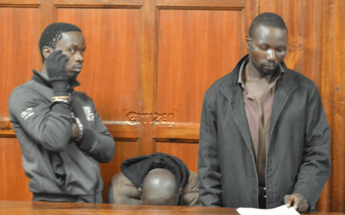 Two arrested, charged after being found with a knife in Nairobi CBD