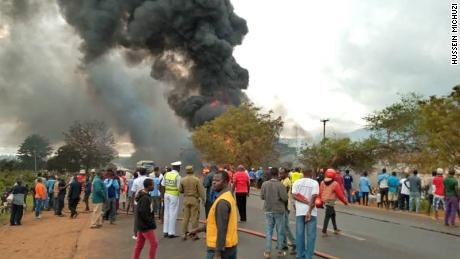 Fuel tanker blast kills 57 in Tanzania: state media
