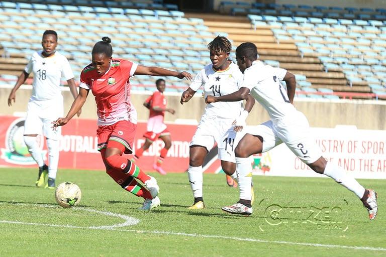 Shikangwa strikes as Starlets dispatch Ghana