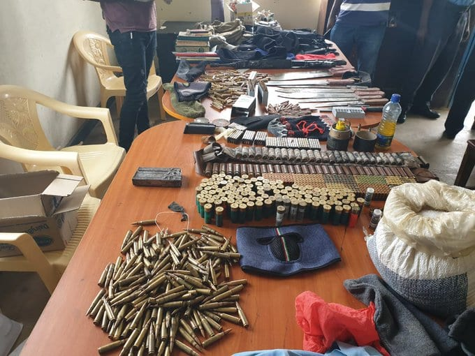 Three terror suspects shot dead, 1,600 bullets, bomb-making materials recovered in Mombasa