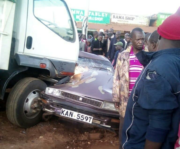 One person killed in grisly Kenyenya accident