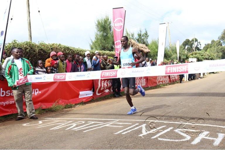 Nyagetari, Wanjiru clinch Ndakaini Half Marathon titles