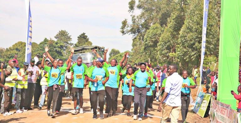 Mathew Kemboi and Judith Korir win Kakamega Forest Marathon