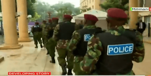 VIDEO: Heavy security as Sonko arraigned at Milimani Law Courts