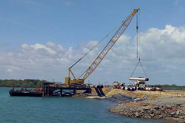 Chinese company suspends works on Lamu Port over fear of Al Shabaab