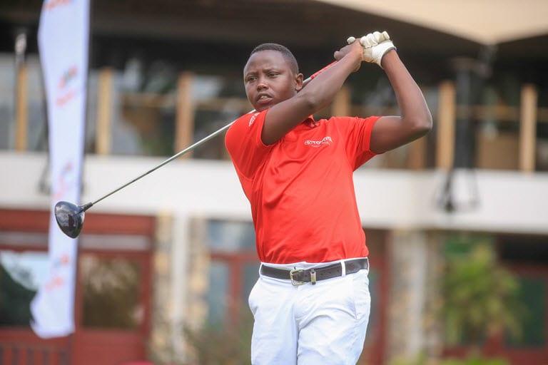 Rwandan Nsabimana in Karen lead