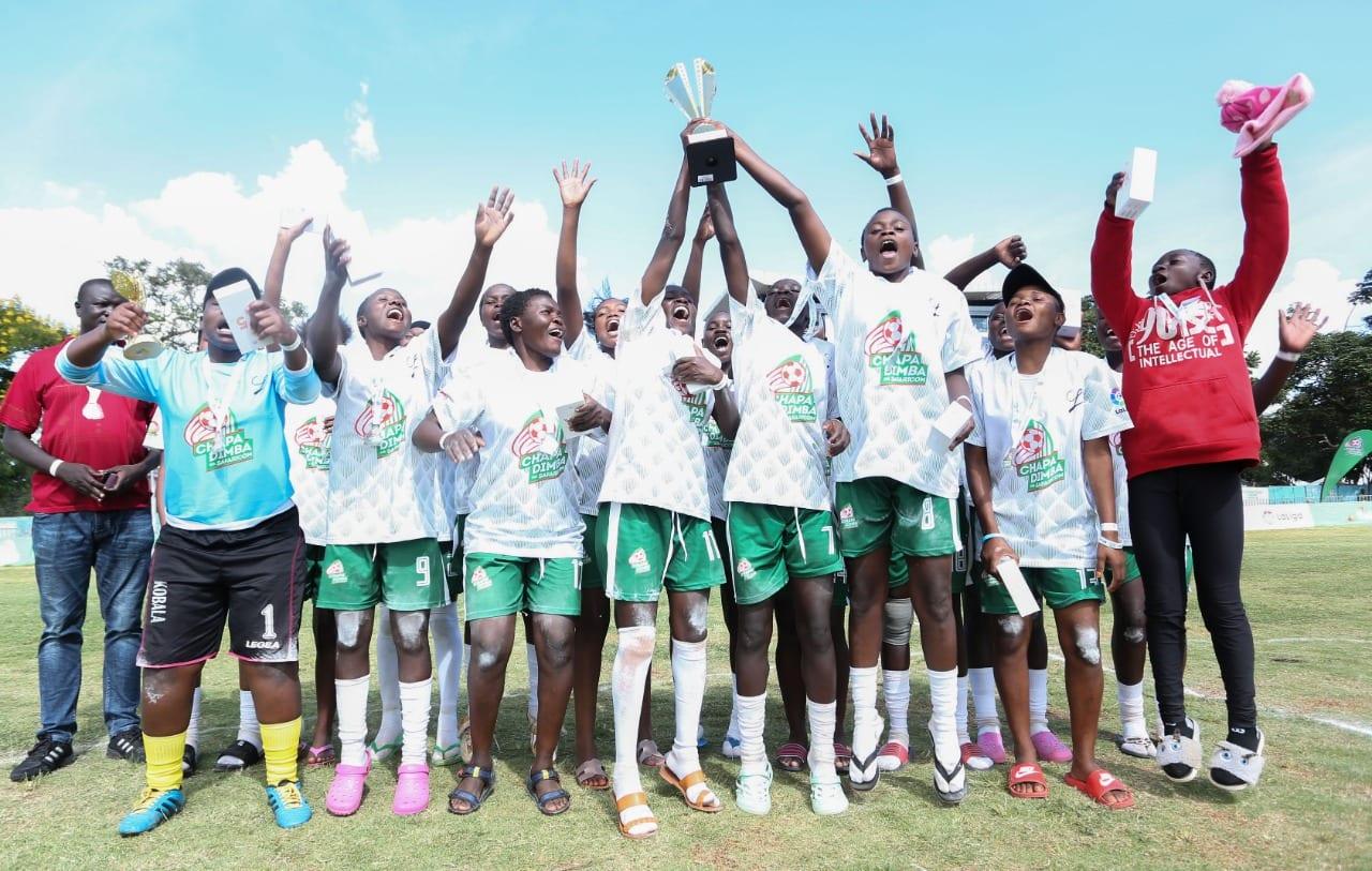 Beijing Raiders and Dagoretti Mixed crowned Nairobi Chapa Dimba Na Safaricom Champions