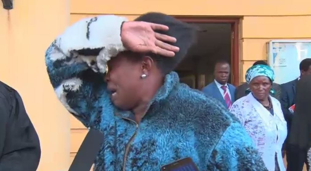 'My son has become a chokora, can no longer speak German,' Ngirita cries in court over frozen funds