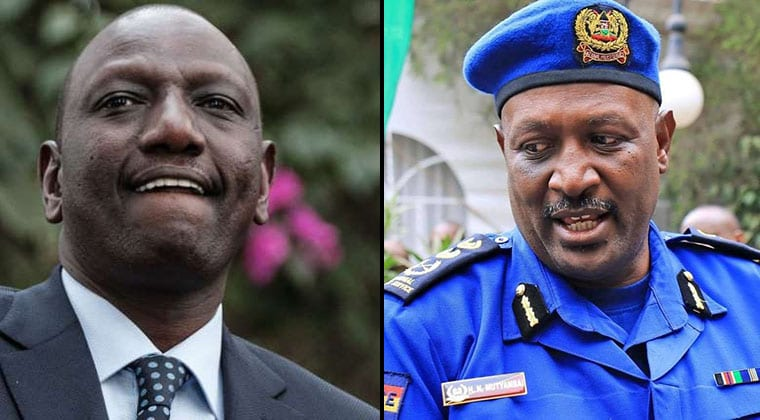 DP Ruto writes to IG over 'security breach' at Harambee Annex office