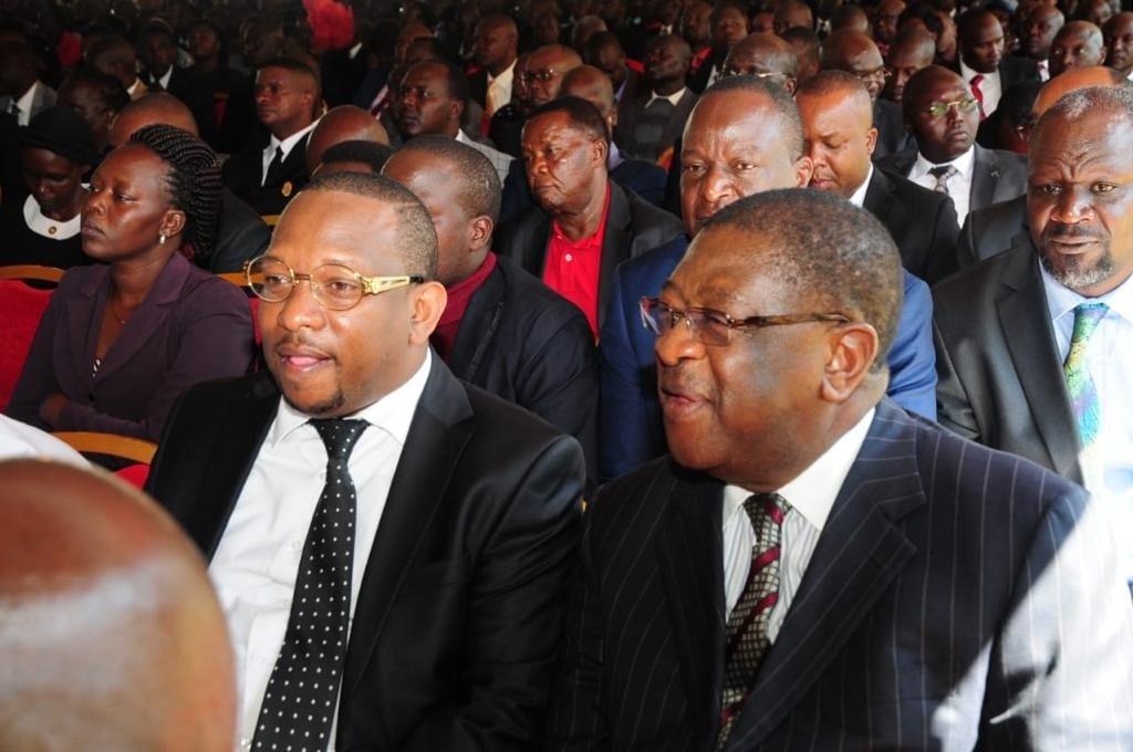 Nairobi Governor Mike Sonko was not denied access at Kabarak