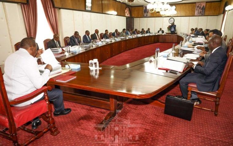 Cabinet Secretaries, PSs, CASs granted 11-day recess by President Kenyatta