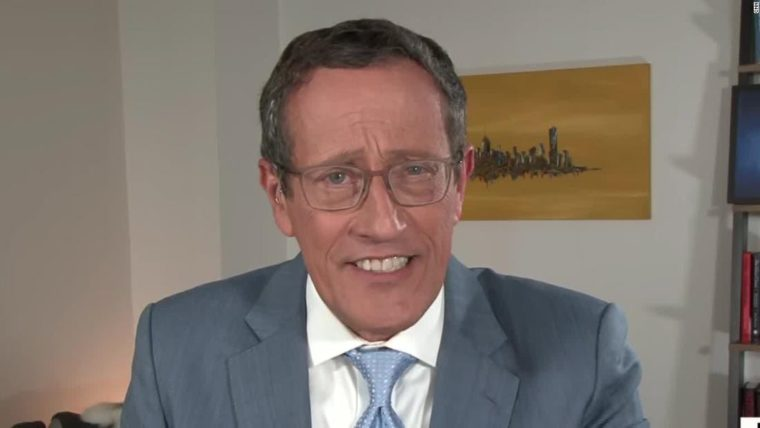 CNN's Richard Quest reveals positive coronavirus test during his show