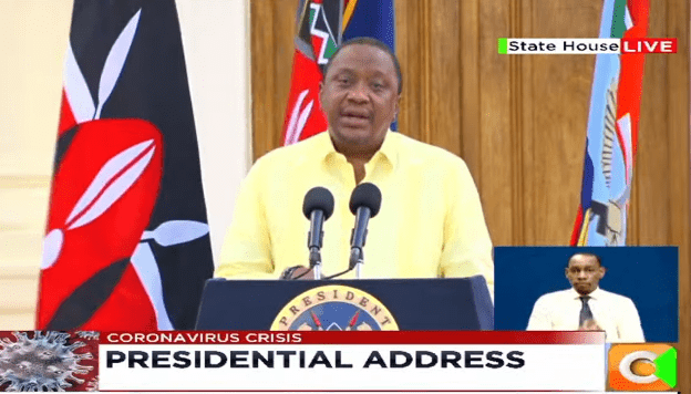 Uhuru gives Ksh.100 million in coronavirus funds to musicians, actors