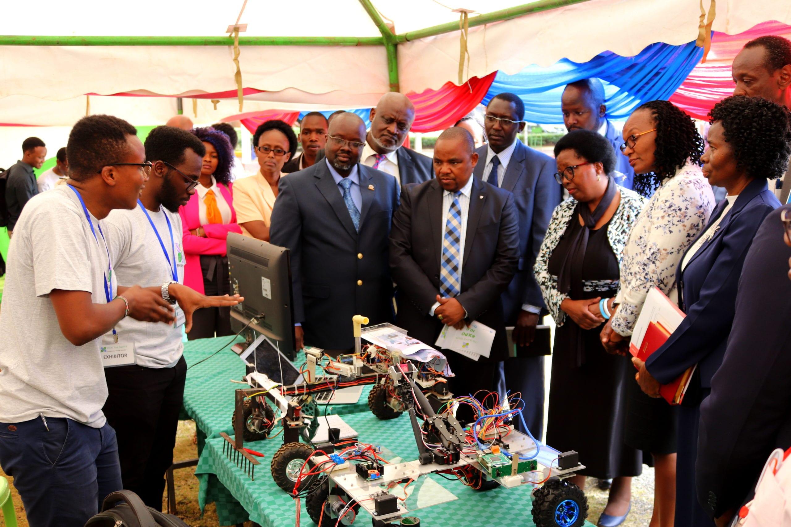 JKUAT students Michael Mwaisakenyi and Kenneth Gichira win Ksh.854K Microsoft digital award