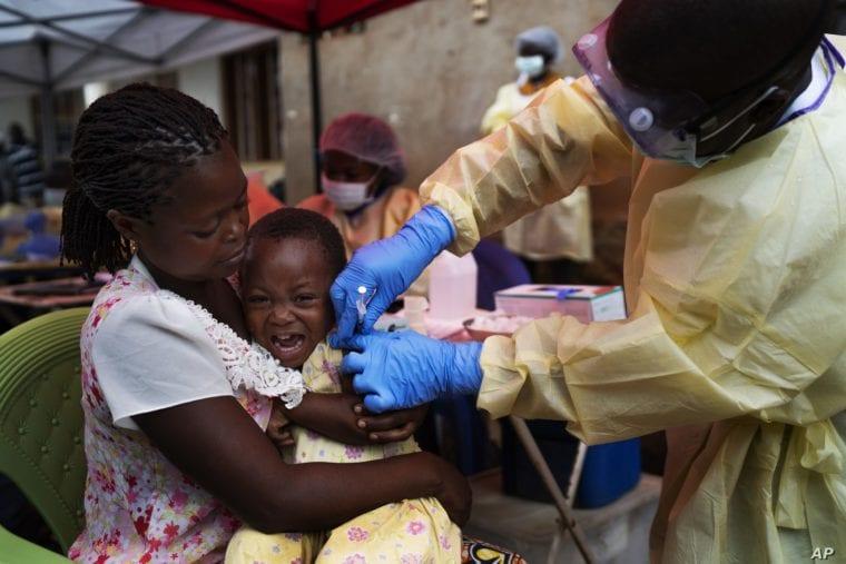 COVID pandemic blocks shipments of children's vaccines