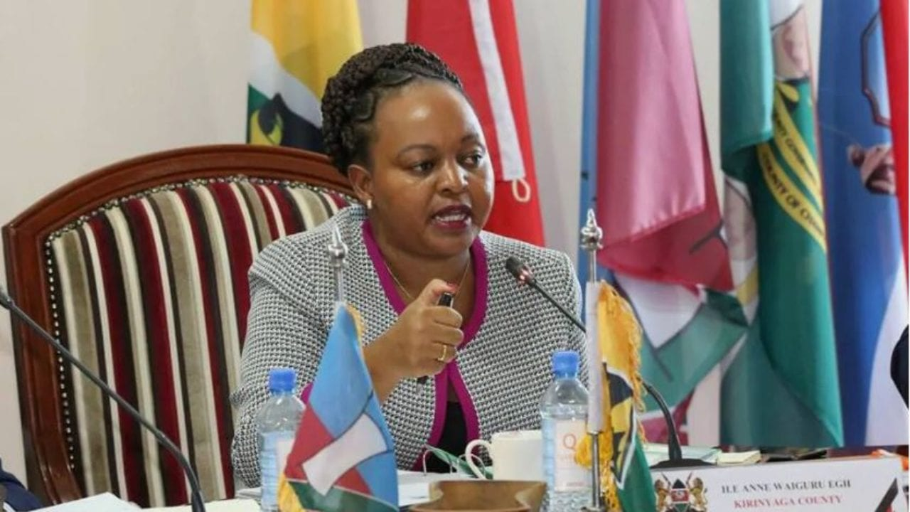 Governor Waiguru rejects MCAs' amendments to COVID-19 budget
