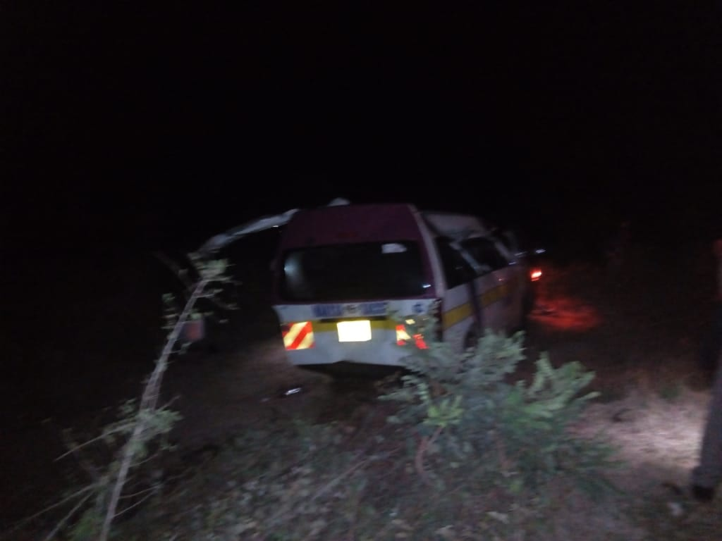 Five killed, 13 seriously injured in dawn accident on Kitui-Machakos road