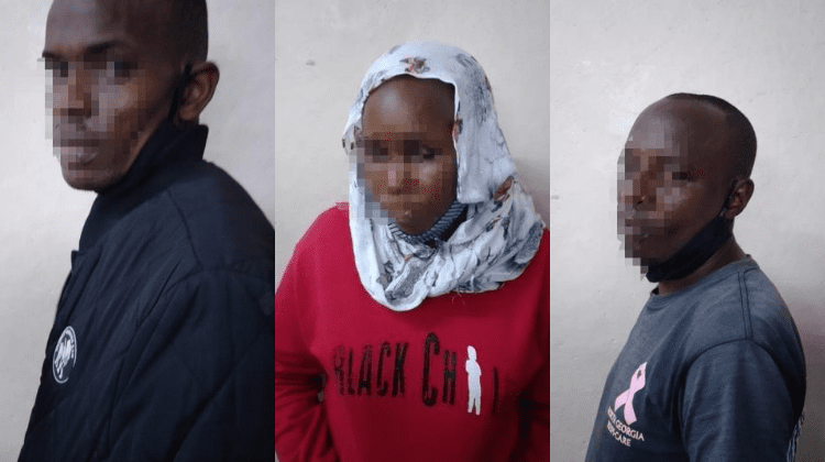 Three suspects pretending to be sales agents charged with conspiracy to defraud
