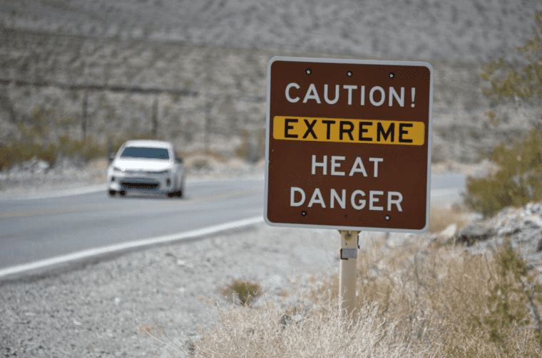 Hottest temperature since 1913 recorded at 54°C