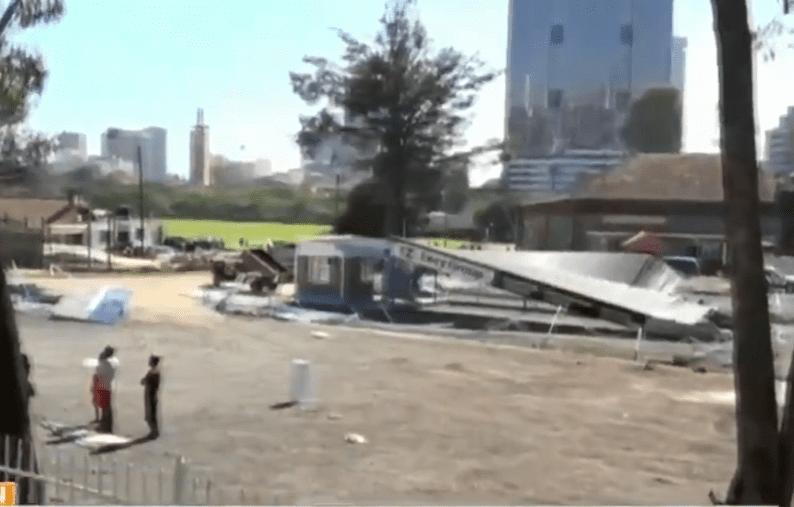 Business operators demand compensation after Kenya Railways demolishes Lunar Park