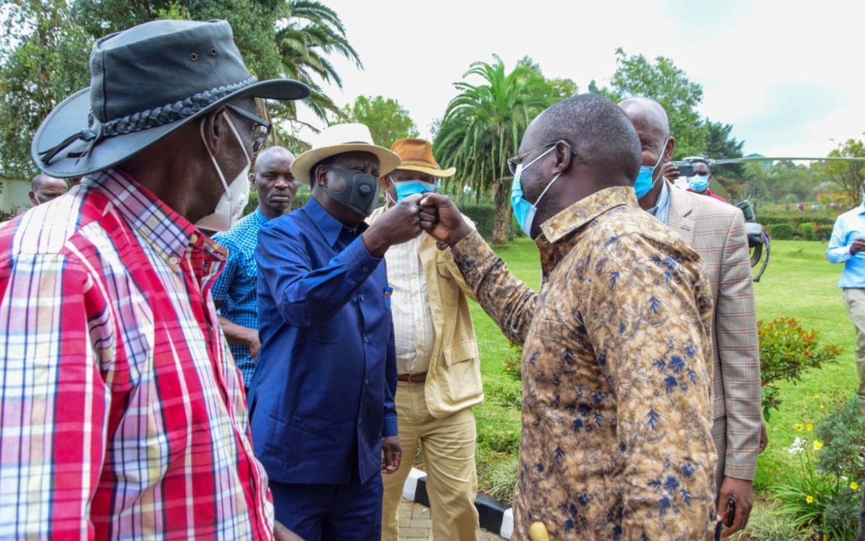 All Kenyan presidents were hustlers, give us a manifesto instead- Raila says