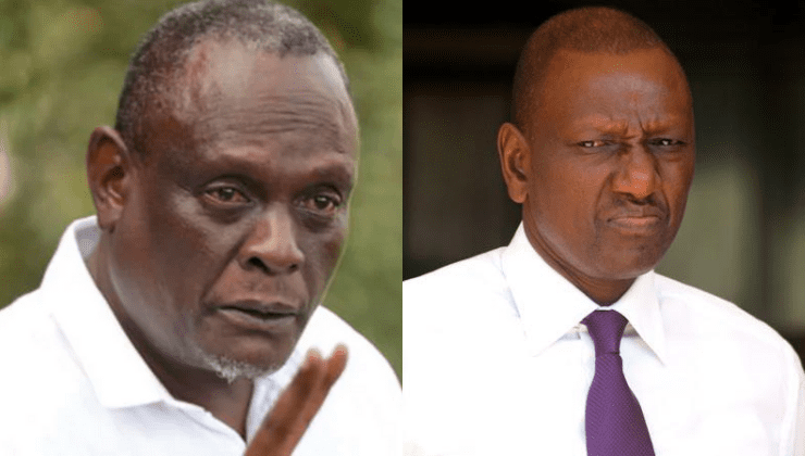 Murathe says DP Ruto should not be President, asks Kenyans to consider Raila