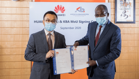 Kenya Bankers Association, Huawei ink partnership to promote tech-driven financial inclusion