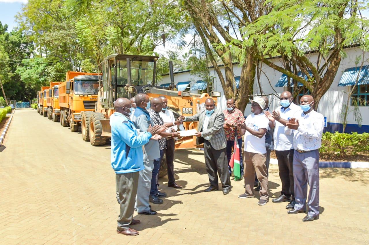 Kirinyaga County Gov't begins rehabilitation of Mwea Rice Irrigation Scheme roads