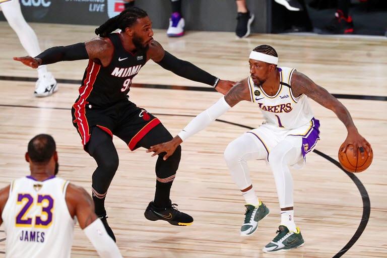 Lakers beat Heat to win NBA title