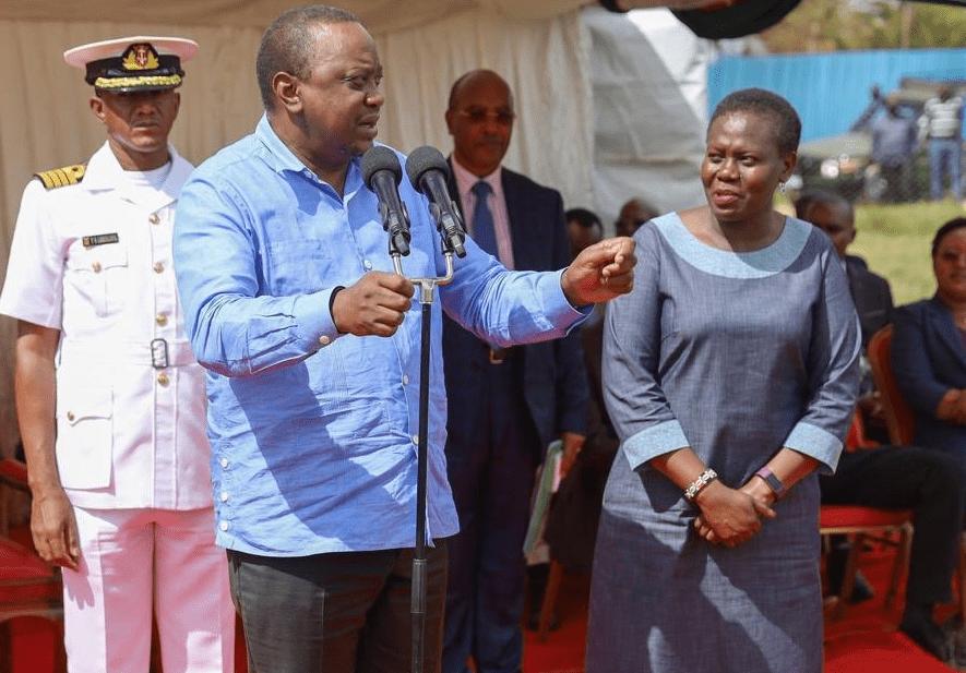 President Kenyatta mourns Lands CS Farida Karoney's father
