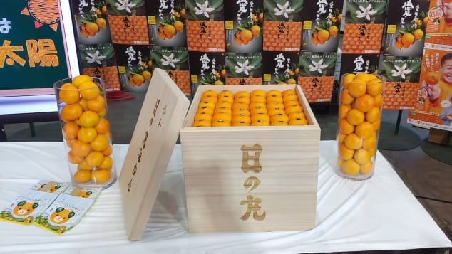 Crate of oranges sells for Ksh.1million in Japan