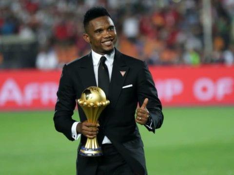 Eto'o wants to be Cameroon FA boss